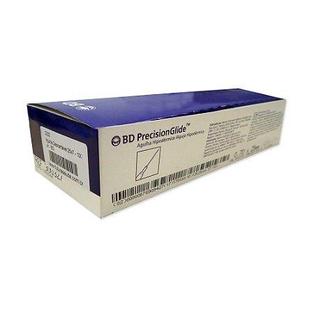 Agulha Hipodérmica Descartável BS PrecisionGlide 0,80x30mm - 100 unidades (vencimento: março/18)