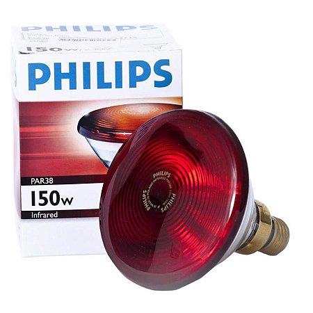 Lâmpada Infravermelho 150W PAR-38 - Philips