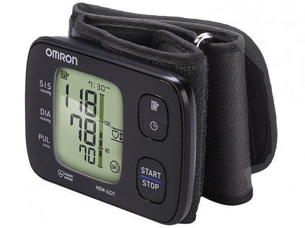 Monitor de Pressão Arterial de Pulso Automático- HEM-6221- Omron