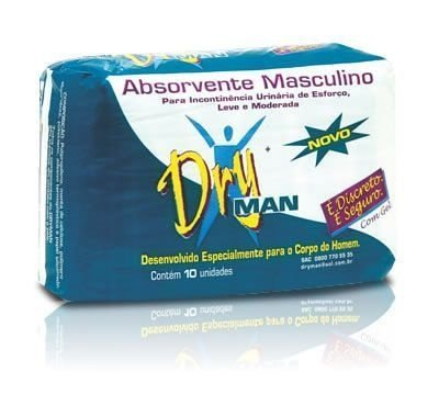 Absorvente Masculino DryMan