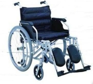 Cadeira de Rodas em Alumínio 1953LQC Mobil Saúde