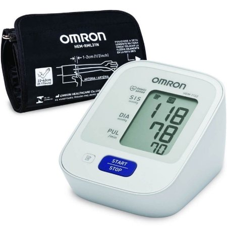 Monitor de Pressão Arterial de Braço com Bluetooth HEM-9200T - OMRON