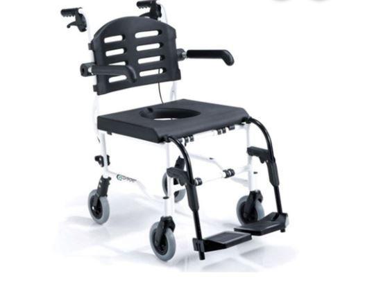Cadeira de Rodas Para Higienização SL-155-6 - PRAXIS