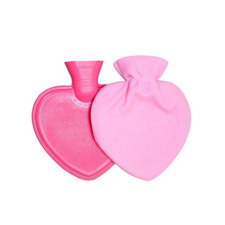 Bolsa Para Água Quente formato Coração com Capa (950 ml) - UNIQCARE