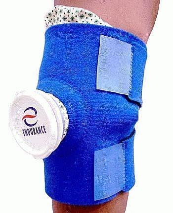Bolsa de Gelo com suporte para joelho e pequenas articulações - Endurance