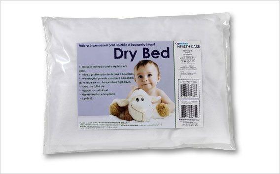 Capa antiácaros Dry Bed para Travesseiro Infantil Copespuma