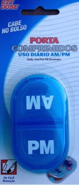 Porta Comprimido Uso Diário AM/PM - Ezy Dose