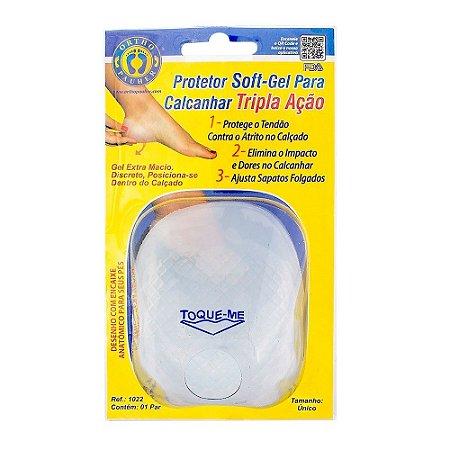 Protetor Soft-Gel para Calcanhar Tripla Ação - Ortho Pauher