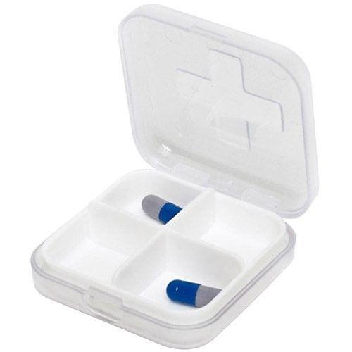 Porta Comprimidos  com 4 Compartimentos - G-Life