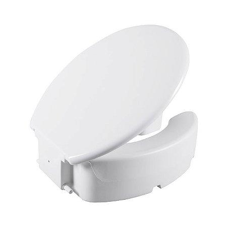Assento Sanitário Elevado com tampa 13cm - Astra