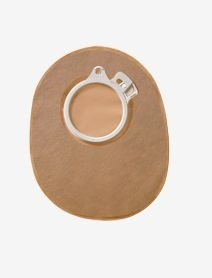 Bolsa Colostomia e Ileostomia SENSURA Click - Flange 60mm - FECHADA OPACA - Coloplast 10166