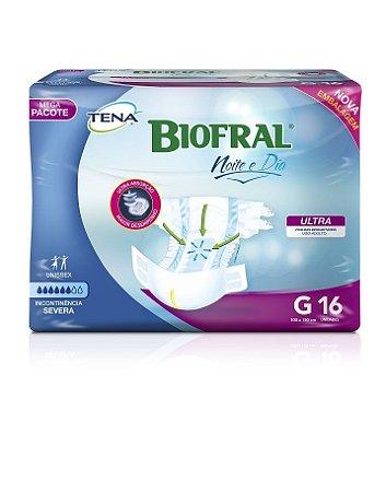 Fralda Geriátrica TENA Biofral Noite e Dia - (pacote com 16 unidades)