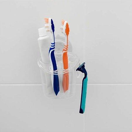 Porta-Escovas com ventosa - Astra