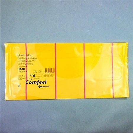 Curativo Hidrocolóide Transparente 5x25cm COMFEEL PLUS Coloplast 3548