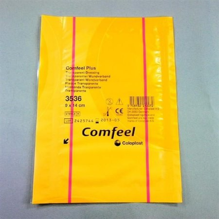 Curativo Hidrocolóide Transparente 9x14cm COMFEEL PLUS Coloplast 3536