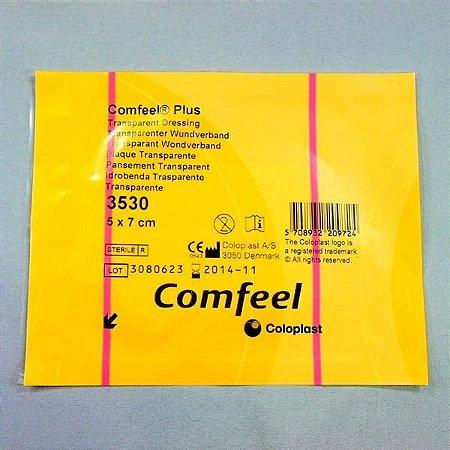 Curativo Hidrocolóide Transparente 5x7cm COMFEEL PLUS Coloplast 3530
