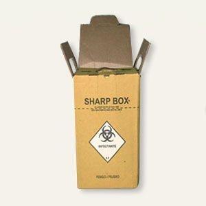 Caixa Coletora de Material Perfurocortante 7 L