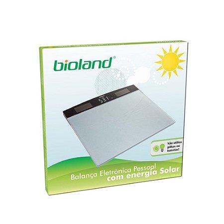 Balança Eletrônica Pessoal com Energia Solar - Bioland