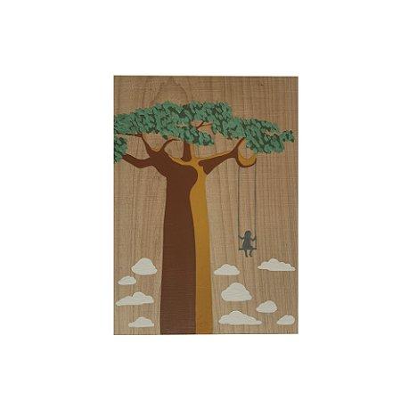 Plaquinha Baobá