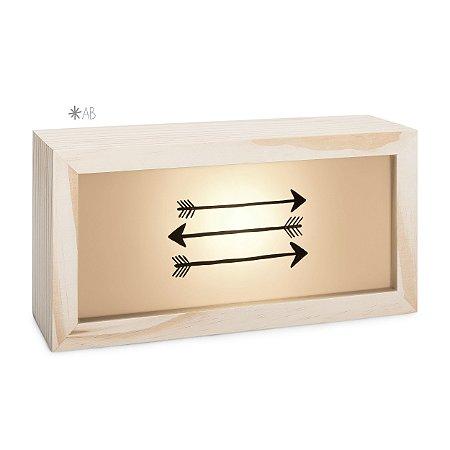 Lightbox Flechinhas