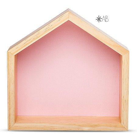 Nicho Casinha tamanho M para decoração de quarto infantil