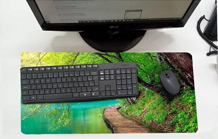 Mouse Pad / Desk Pad Grande 30x70 - Lago