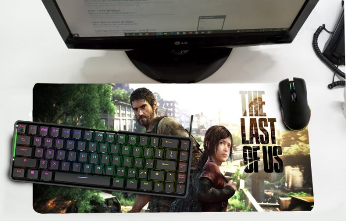 Mouse Pad / Desk Pad Grande 30x70 - The Last of US