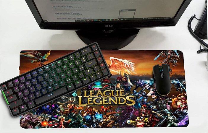 Mouse Pad / Desk Pad Grande 30x70 - League of Legends