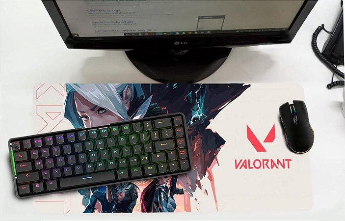 Mouse Pad / Desk Pad Grande 30x70 - Valorant