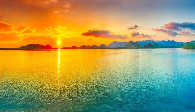 Quadro Nautico - Diversos Tamanhos - Por do Sol 3