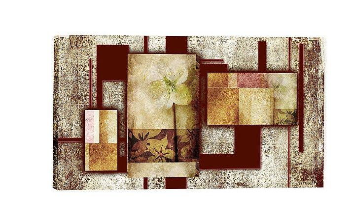 Quadro Abstrato Floral  - Diversos Tamanhos