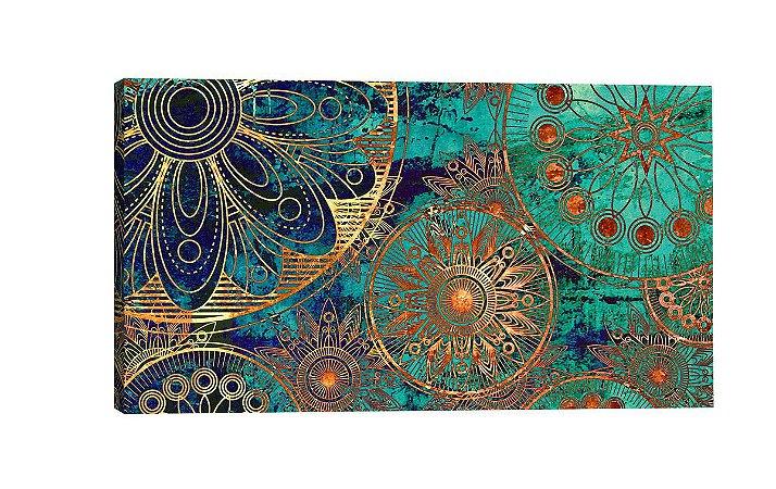 Quadro Mandala 206  - Diversos Tamanhos