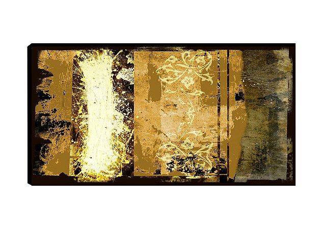 Quadro Abstrato Caramelo  - Diversos Tamanhos