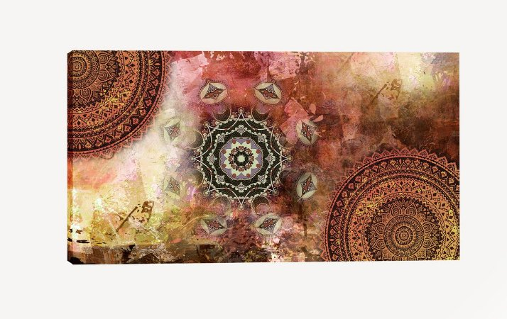 Quadro Mandala TR - Diversos Tamanhos