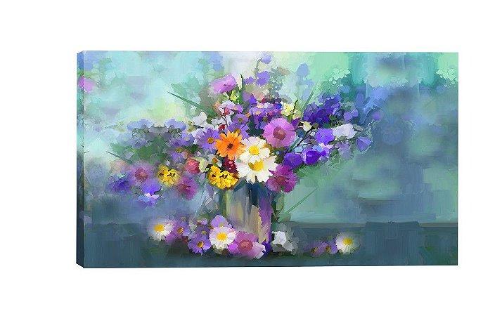 Quadro Flores do Campo (ID55-04) - Diversos Tamanhos