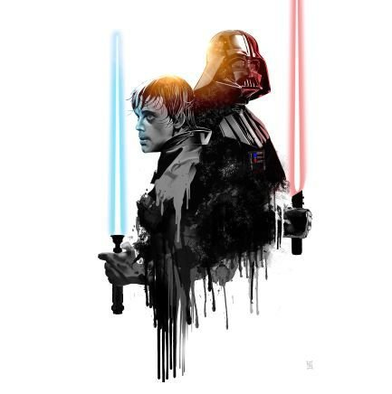 Quadro Star Wars  - GK10 30x30