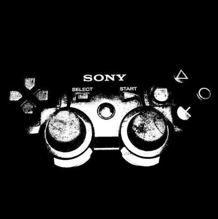 Quadro Controle PlayStation - GK13 30x30