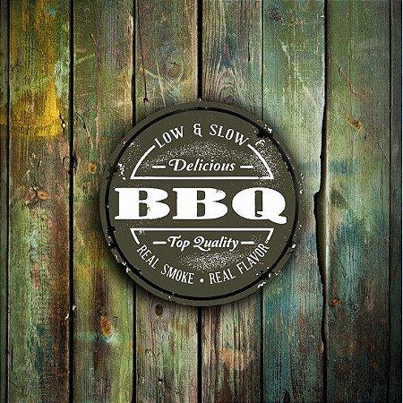 Quadro Churrasco Barbecue - 30x30