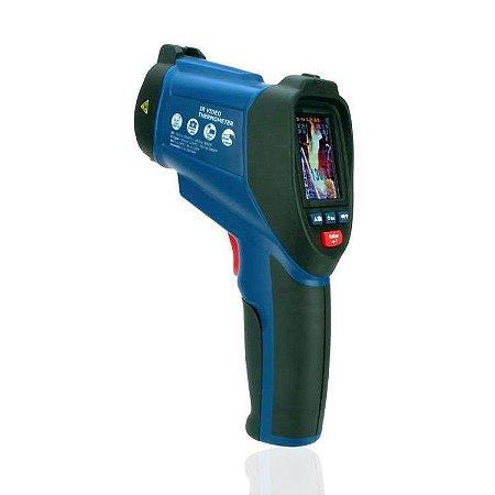 Pirômetro Óptico Alta Temperatura com Câmera Integrada 2200°C IP-9862S