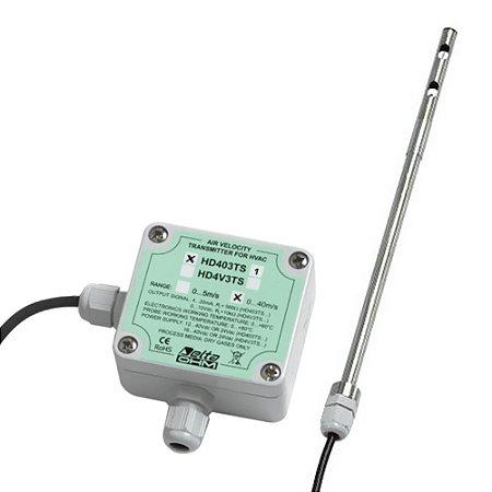Transmissor de Velocidade do Ar Fio Quente HD-403TS1