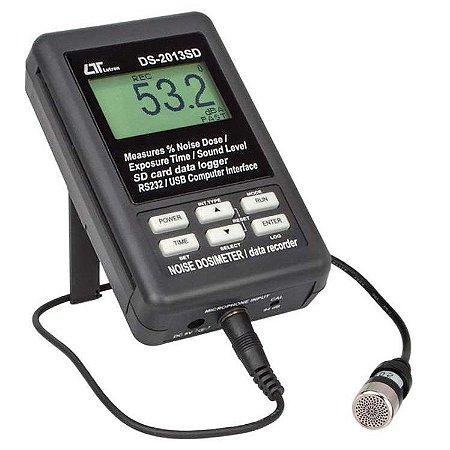 Dosímetro de Ruído com Datalogger e Cartão SD DS-2013SD