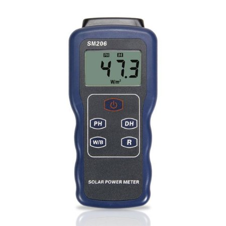 Medidor de Radiação Solar SM-206 Impac