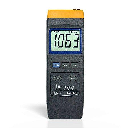 Medidor de Campo Eletromagnético Digital EMF-828 Lutron