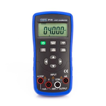 Gerador de Sinal 4-20mA e Calibrador de Loop IP-05 Impac