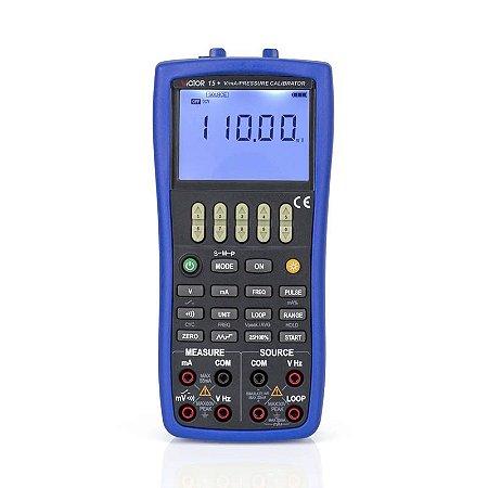 Simulador e Calibrador de Grandezas Elétricas IP-15+
