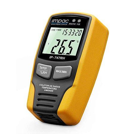 Datalogger Temperatura e Umidade IP-747 Impac