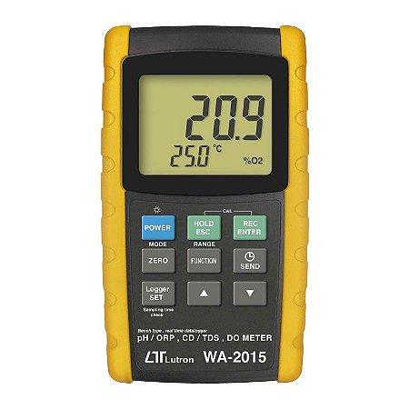 Medidor Multiparâmetro PH, Oxigênio, Condutividade, Temperatura  WA-2015 Lutron