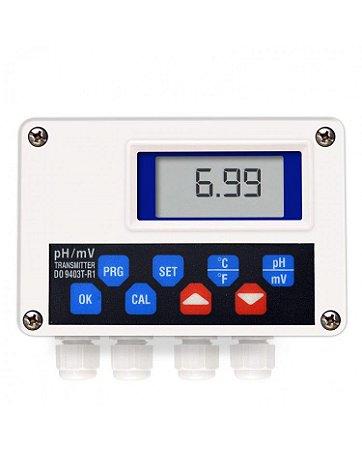 Transmissor de pH e Temperatura Saída 4 a 20 mA DO-9403TR1