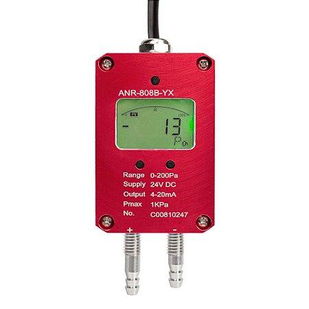 Transmissor de Pressão Diferencial do Ar 200 Pa IPANR-808