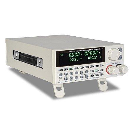 Carga Eletrônica DC Programável 300W 120V Interface Ethernet e USB IP-103